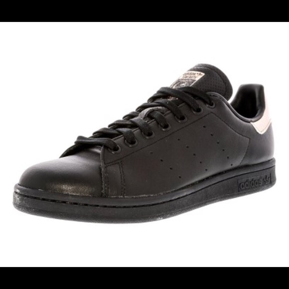 best sneakers e64a3 2313f Adidas Originals Stan Smith - Black & Rose Gold